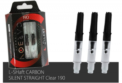 L-Style Carbon Silent Clear Dreh-Shaft 190