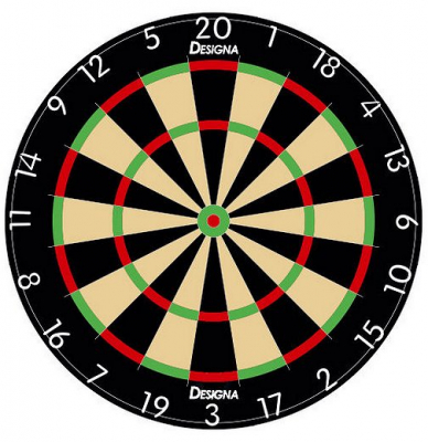 Mousepad Dartboard