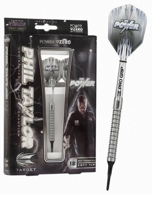 Target Phil Taylor Power 9Zero Softdart (3er Satz)