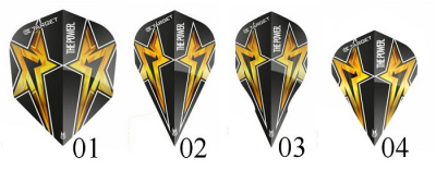 Target Power Star Black Gen. 3 Flights 308888 (3er Satz)