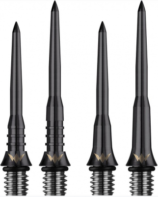 MISSION BLACK TITANIUM Smooth 30mm 2ba Conversion Dart Points 3 per order
